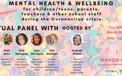 Mental Health & Wellbeing Panel in Education during Covid19